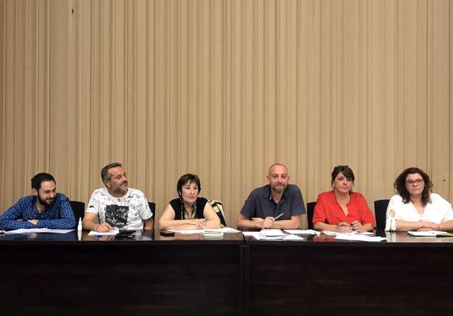 Pleno extraordinario del Comité Central del PCA