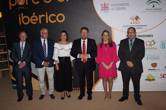 Rodrigo Sánchez Haro, durante la entrega de los premios Porc d'Or Ibérico