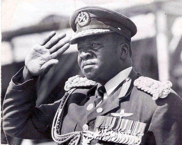 El exdictador de Uganda Idi Amin