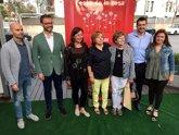 """Foto: Armengol insta a los socialistas a celebrar la Fiesta de la Rosa """"con más motivos que nunca"""" tras la victoria de Sánchez"""