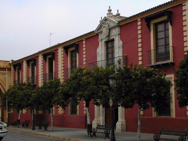 Fachada del colegio Marcelo Spínola de Umbrete