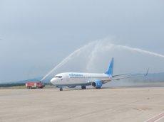L'Aeroport de Girona inaugura dues rutes a Berlín (Alemanya) i Sant Petersburg (Rússia) (AENA)