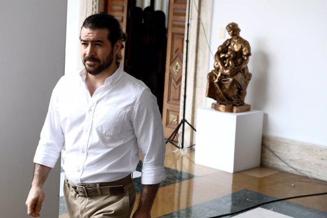 El dirigente opositor venezolano Daniel Ceballos tras su excarcelación