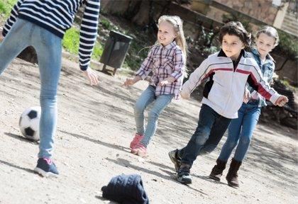 La actividad física en el desarrollo de los sentidos del pequeño