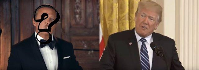 Trump y Luis Miguel