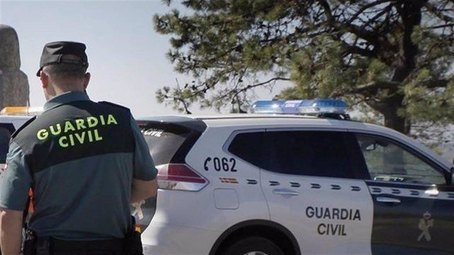 Foto de archivo de un agente de la Guardia Civil