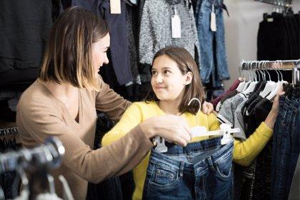 El material de la ropa más importante que el precio en la moda infantil