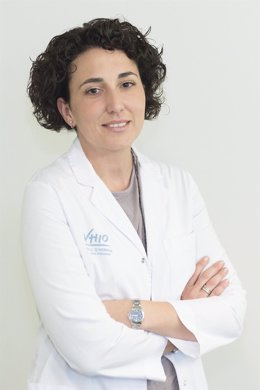 La investigadora del Vall d'Hebron Instituto de Oncología (VHIO) Cristina Saura