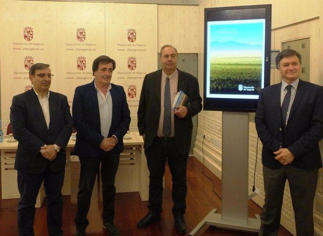 Presentación del Día de la Provincia en Segovia