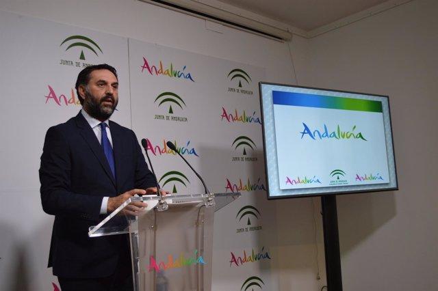 Francisco Javier Fernández consejero de Turismo de Andalucía