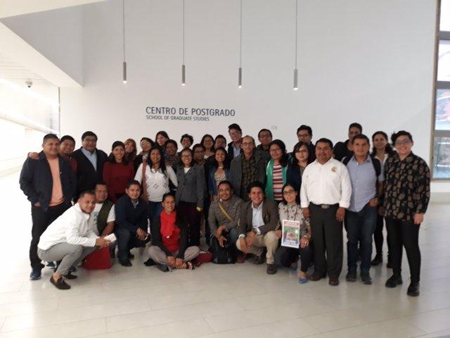 Alumnos título experto pueblos indígenas uc3m
