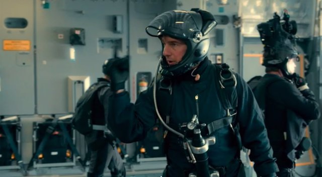 Tom Cruise y su salto Halo en Misión Imposible: Fallout