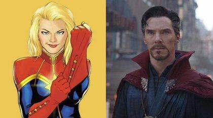 ¿Están conectados Capitana Marvel y Doctor Strange?