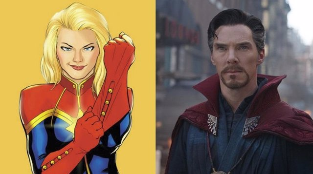 Doctor Strange y Capitana Marvel