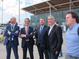 El consejero José Luis Soro ha inaugurado las nuev