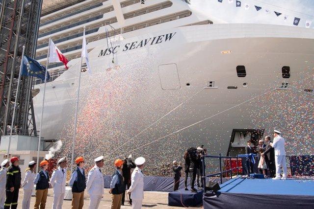 MSC recibe el 'MSC Seaview', tercer barco de nueva ...