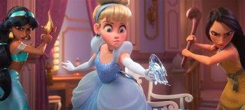 Foto: Las princesas Disney son las estrellas del nuevo tráiler de Ralph rompe Internet
