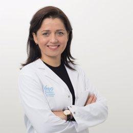 La investigadora Leticia de Mattos-Arruda