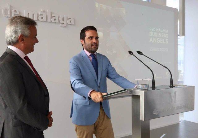 Jacobo Florido recibe a empresarios de Argentina vivir e invertir en málaga
