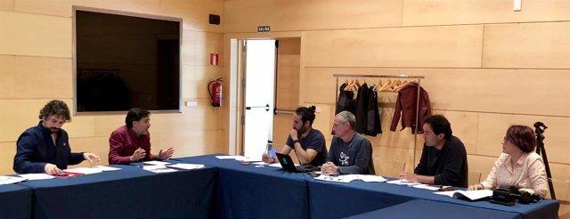 Sarrión y Cháez se reúnen con miembros de EA, 5-6-18