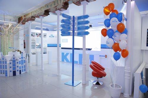 Pop up Store' de KLM en Marid
