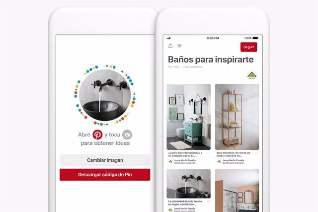 bdad7f253 Pinterest lanza en España la función Pincodes, con código escaneable para  descubrir productos de marcas y negocios