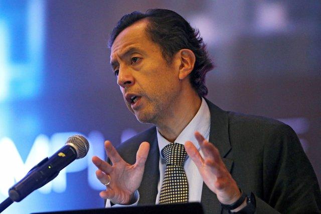 El ministro de Economía de Perú, David Tuesta.