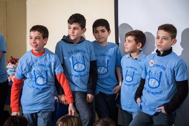 Niños de la Fundación NUPA
