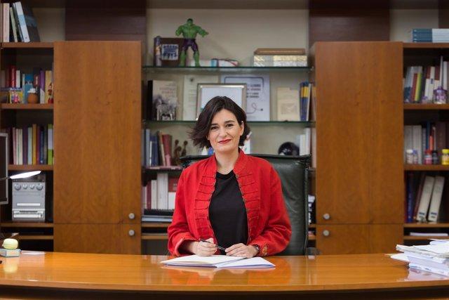 Consellera de Sanidad, Carmen Montón