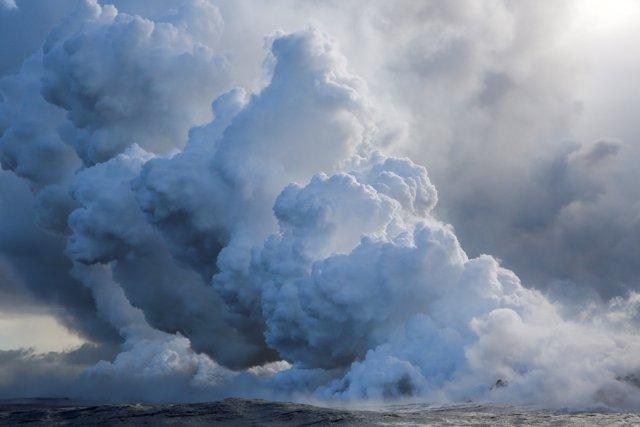 Erupción del volcán hawaiano Kilauea