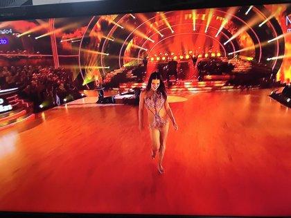 Yana Olina, de infarto con su vestido en Bailando con las Estrellas