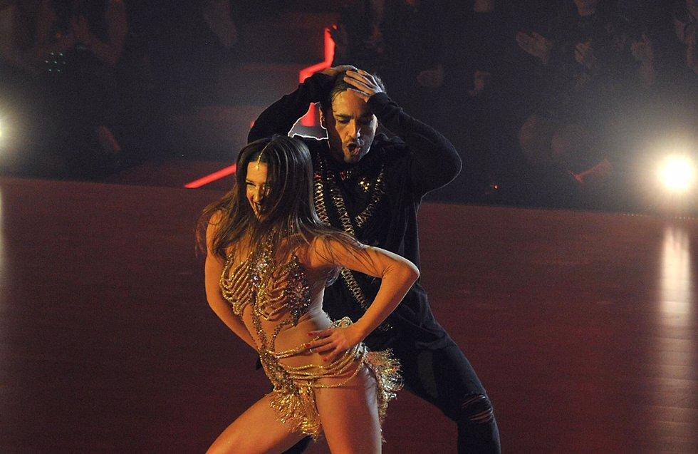 Bustamante y Yana Olina y su gran juego en Bailando con las Estrellas