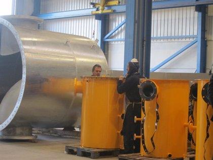 La producción industrial vasca aumenta un 10,5% en abril