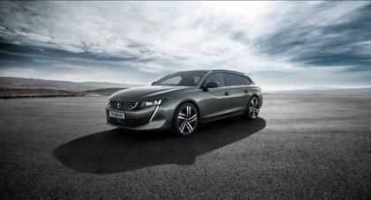 Peugeot desvela la versión familiar del nuevo 508, que llegará al mercado europeo en enero de 2019