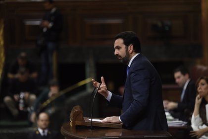 """Alli dice que UPN """"votará con libertad con partidos constitucionalistas"""" iniciativas """"buenas"""" para Navarra"""