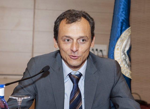 El astronauta Pedro Duque