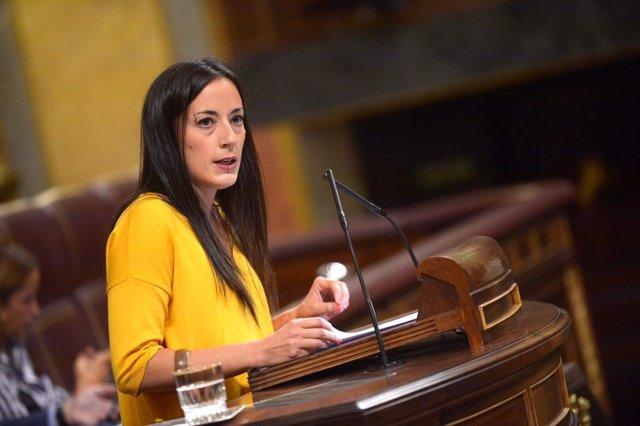 Isabel Franco, diputada de Unidos Podemos