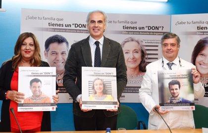 """La Comunidad lanza una campaña para sensibilizar sobre donación de órganos, un """"regalo de vida"""" que debe aumentar"""