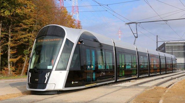 Tranvía de CAF para Luxemburgo