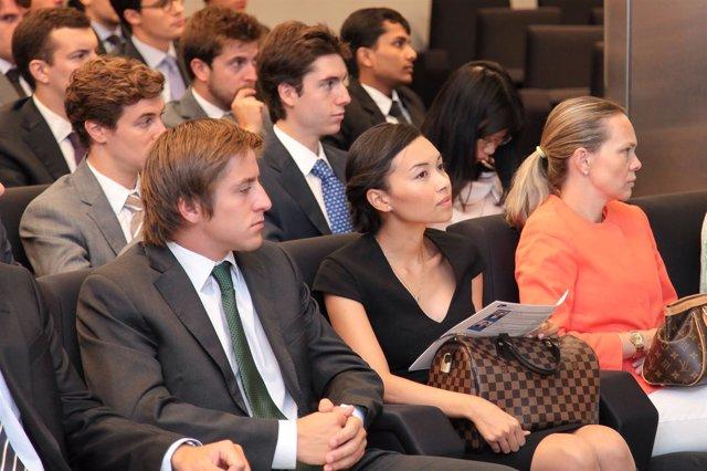 Alumnos de la IE Business School