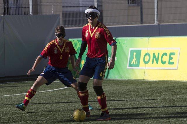 Serlección Española de Fútbol para Ciegos