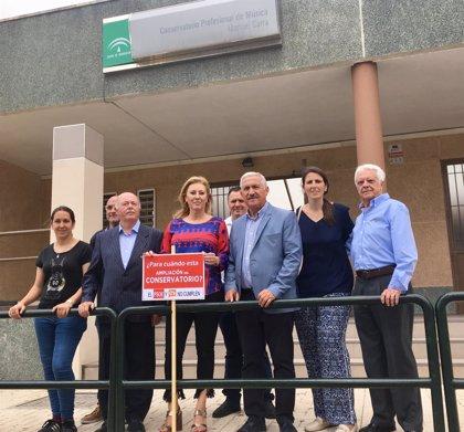 El PP exige a la Junta la ampliación de plazas en el Conservatorio Manuel Carra
