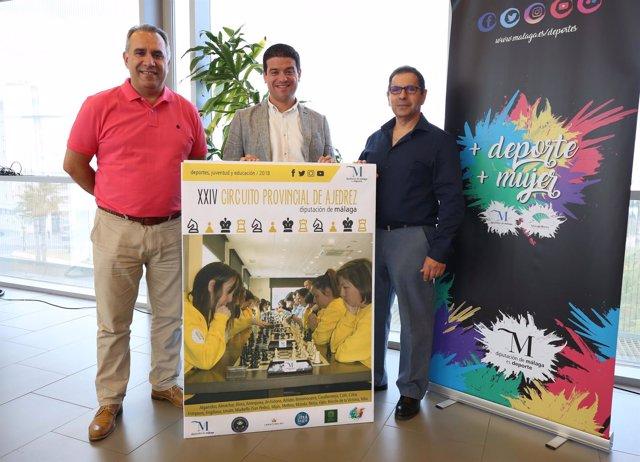 Presentación XXIV Circuito Provincial de Ajedrez Diputación de Málaga