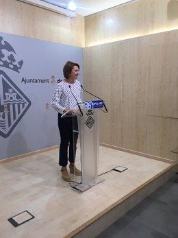 Marga Durán, PP de Palma