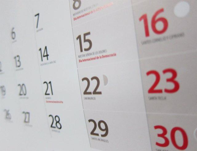 Calendario Laboral Fuenlabrada 2019.El Gobierno Regional Aprueba El Calendario De Festivos Para 2019