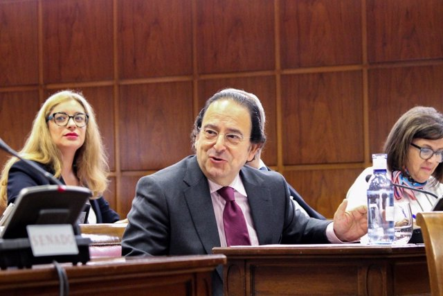 Luis Aznar, PP comisión de investigación del Senado