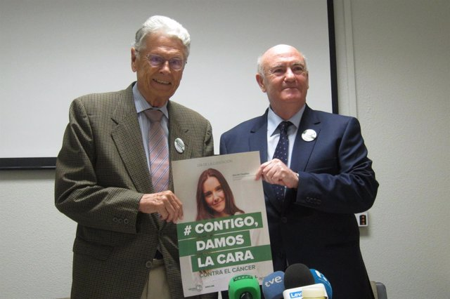 Antonio Llombart y Tomás Trénor, responsables de la AECC Valencia