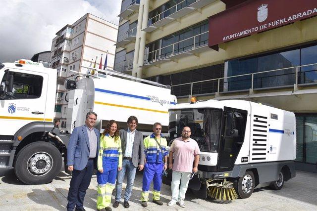 Vehículos de limpieza en Fuenlabrada