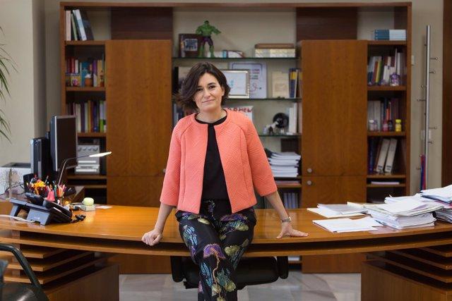 Carmen Montón, consellera de Sanidad