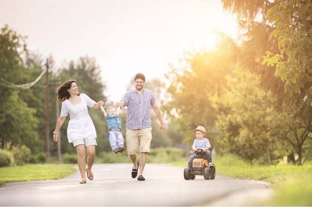 Planifica actividades en familia